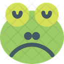Frog Sad Icon