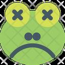 Frog Sad Death Icon
