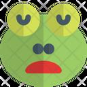 Frog Sleepy Icon