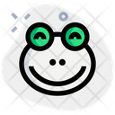 Frog Smiling Icon