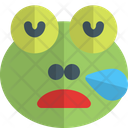 Frog Snoring Animal Wildlife Icon