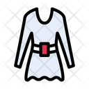 Dress Cloth Women Icon