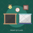Front Class Board Icon