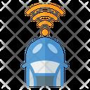 Front Car Sensor Icon