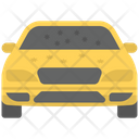 Front Damage Mirror Damage Car Accident Icon