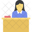 Front Desk Help Desk Reception Icon