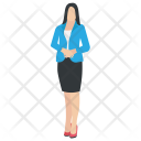 Frontdesk Officer Secretary Icon
