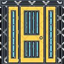 Front Door Main Door Enterance Icon