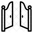 Front Gate Open Icon
