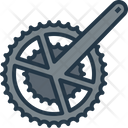 Gear Front Chainring Icon