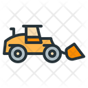 Front Loader Truck Construction Icon