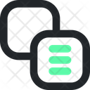 Front Object Background Design Icon