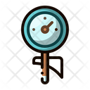 Frothing Thermometer Tool Icon
