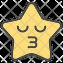 Frown Emoticon Star Icon