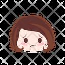 Sad Unhappy Grimace Icon