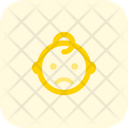 Frowning Baby Icon