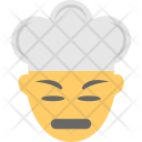 Confounded Angry Chef Icon