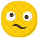 Frowning Face Hushed Face Emoticon Icon