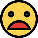 Frowning Face Open Mouth Icon