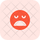 Frowning Open Mouth Icon