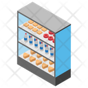 Frozen Food Fast Food Food Corner Icon