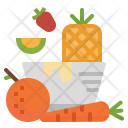 Fruit Vegetables Vegetarian Icon