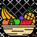 Fruit Diet Organic Icon
