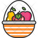 M Fruit Basket Icon