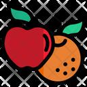 Fruit Organic Orange Icon