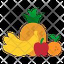 Fruit Gift Basket Icon