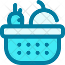 Basket Fruit Supplies Icon