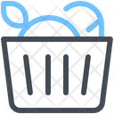 Basket Bake Bread Icon