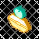 Food Box Isometric Icon