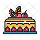 Fruit Cake Cake Healthy Icon