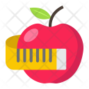 Apple Measuring Tape Icon