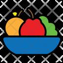 Friut Apple Diet Icon