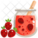 Fruit Jam Jam Jam Jar Icon