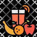 Juice Fruits Apple Icon