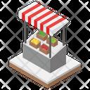 Fruit Kiosk Icon