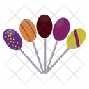 Fruit Lollipops Fruit Pops Candy Icon
