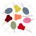 Fruit Lollipops Lollipops Lollipop Sticks Icon