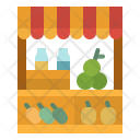 Market Fruit Food Icon