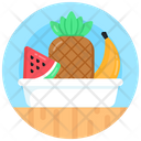 Food Plate Fruit Plate Fruits Icon