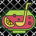 Fruit Punch Juice Smoothie Icon
