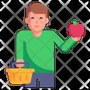 Fruit Shopping Icon