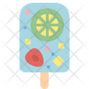 Fruit Slice Ice Pop Icon