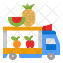 Fruit Truck Fruit Truck Icon