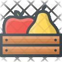 Fruits Fresh Farming Icon