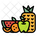 Fruits Juice Pineapple Icon