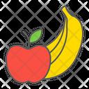 Fruits Fruit Apple Banana Product Supermarket Department Icon